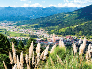 Cidade a partir do Morro do Avencal